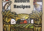 Cover picture of the Auburn Recipes Cookbook by the Friends of the Griffin Free Public Library.