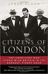 Book cover for the book, Citizens of London.